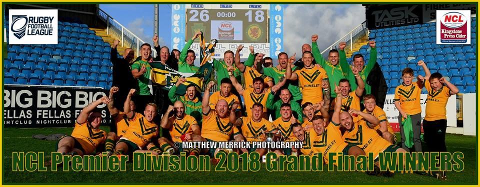 Hunslet Club Parkside -Grand Final & League Winners!!