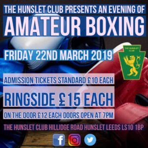 Boxing Show Poster