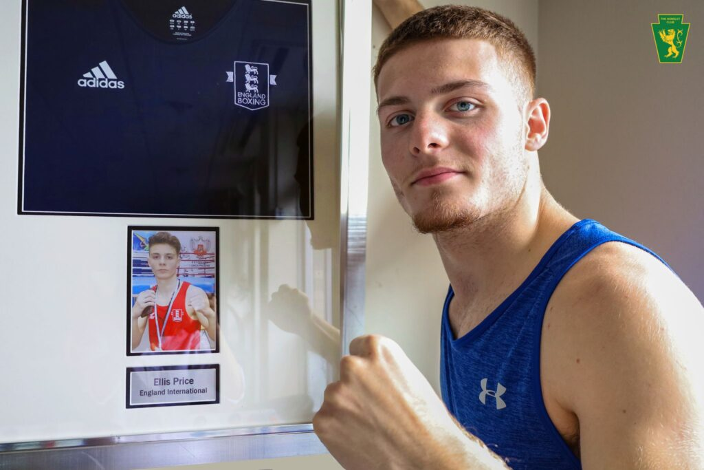 Ellis Price Selected For European Youth Championship