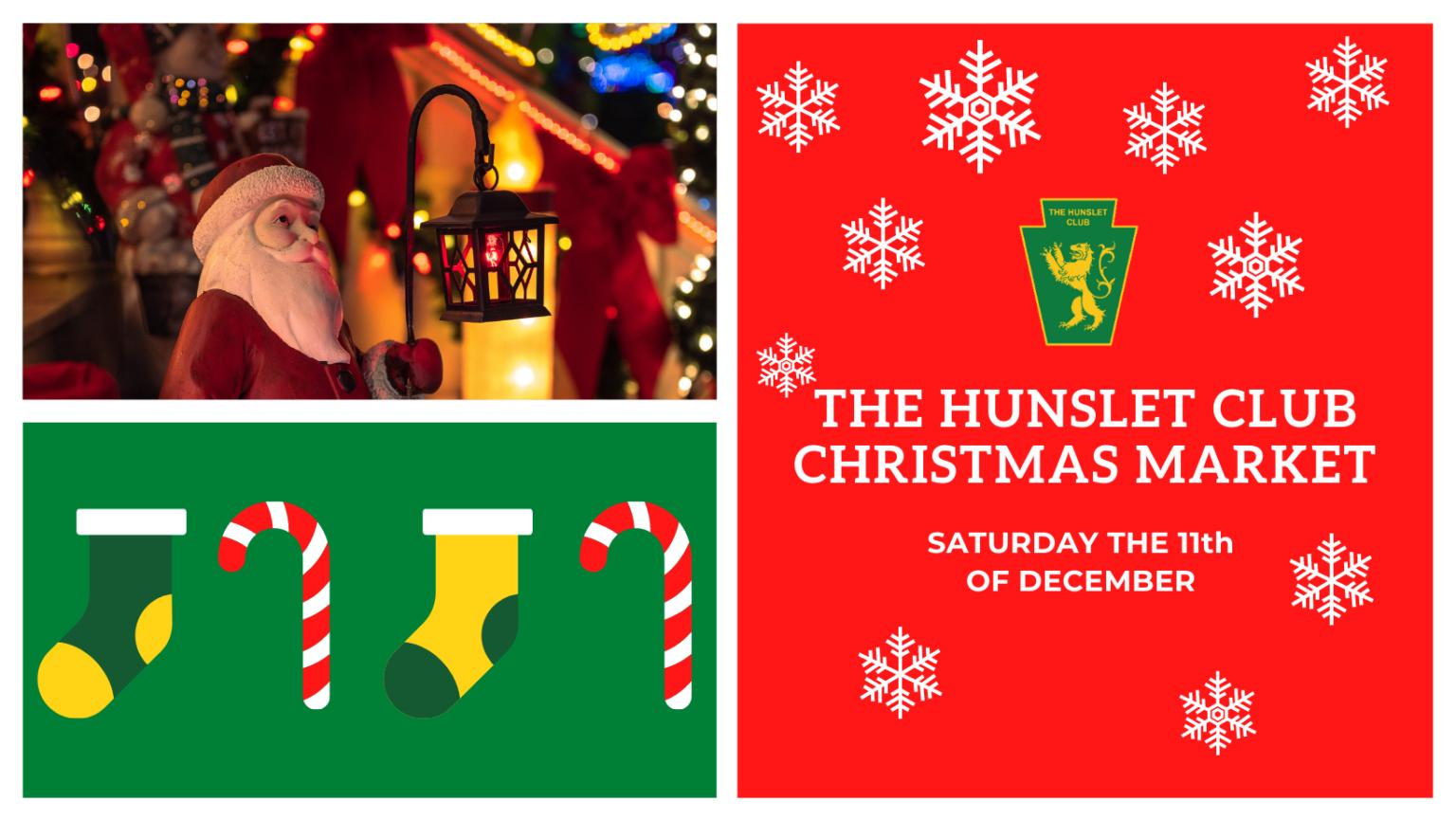 The Hunslet Club Christmas Markets